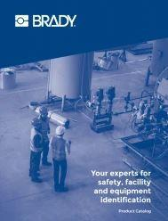 Safety, Facility and Equipment Identification Catalog